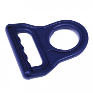 Ручка для бутылей AEL, пластиковая, синяя, 70076