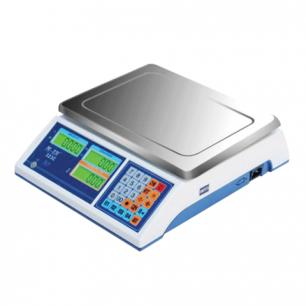 Весы торговые MERCURY M-ER 323C-15.2 (0,05-15кг), дискретность 2г, платформа 315х235мм, без стойки