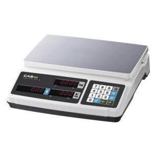 Весы торговые CAS PR-15B (0,04-15кг), дискретность 5г, платформа 320х210мм, без стойки
