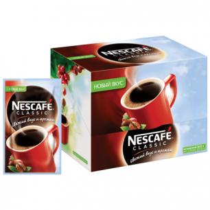 """Кофе растворимый NESCAFE """"Classic"""", гранулированный, 30 пакетов по 2г (упаковка 60г), 12045381"""