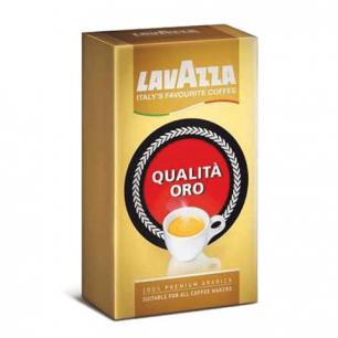 """Кофе молотый LAVAZZA """"Oro"""", натуральный, арабика 100%, 250г, вакуумная упаковка, 1991"""