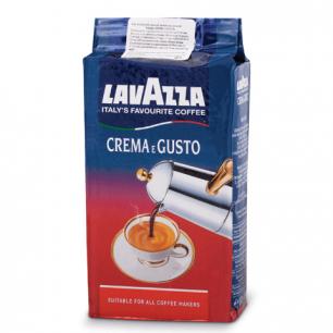 """Кофе молотый LAVAZZA """"Crema e Gusto"""", натуральный, 250г, вакуумная упаковка, 3876"""