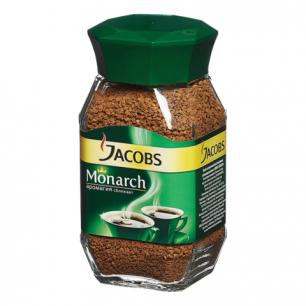 Кофе растворимый JACOBS MONARCH 47,5г, стеклянная банка, ш/к 70343