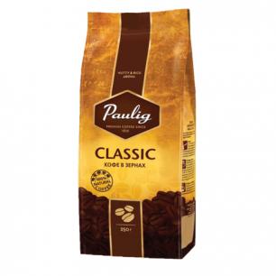 """Кофе в зернах PAULIG (Паулиг)  """"Classic"""", натуральный, 250г, вакуумная упаковка, 16496"""