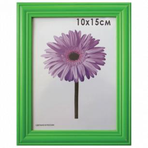 """Рамка премиум 10*15см """"Linda"""", дерево, зеленая (для фотографий), 0065-4-0008"""