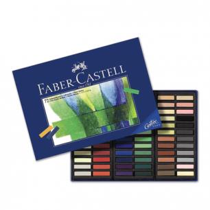 """Пастель художеств. FABER-CASTELL """"Creative studio"""", мягкая, 72 цв., 1/2станд.длины, карт.короб, 128272"""