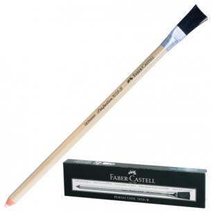 """Корректор-карандаш  для чернил и туши FABER-CASTELL """"Perfection"""", с кисточкой, 185800"""