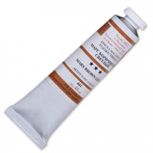 Краска масляная художественная ПОДОЛЬСК, туба 46мл, марс коричневый светлый (441), шк2479