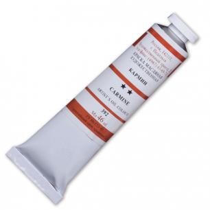 Краска масляная художественная ПОДОЛЬСК, туба 46мл, кармин (392), шк2257