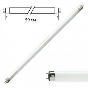Лампа люминесцентная PHILIPS TL-D 18W/33-640, 18Вт, цокольG13, в виде трубки 59см, холодный бел.свет
