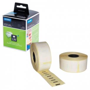 Картридж для принтеров этикеток DYMO Label Writer, этик 36*89мм в рул, 260шт/рул, КОМПЛ 2 рул, белые