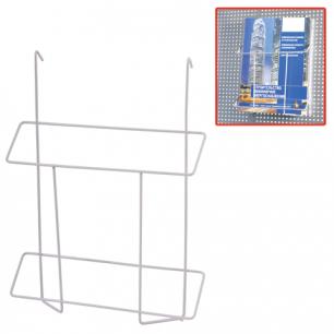 Лоток навесной для стоек ПАРУС, ф.А4 (в300*ш225*г40), проволочный, хром, (стойки 290441, 290442)