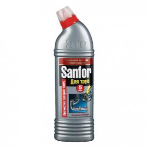 Средство для прочистки канализационных труб SANFOR (Санфор)  1000г, ш/к 04805