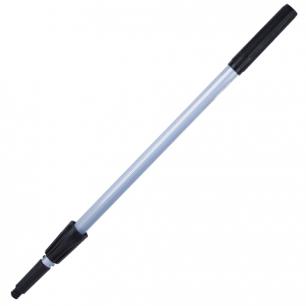 "Ручка д/стекломойки ЛАЙМА ""Проф"" алюм., телескоп, 2 штанги, 120см (стекломойка 601521, 22,23), 601514"