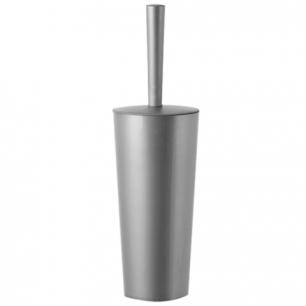 """Ерш для унитаза IDEA, """"Стар"""", закрытый, высокая подставка-стакан, цвет серебристый, М 5017"""