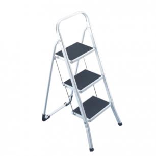 Лестница-стремянка ARNO 69 см, 3 прорезиненные ступени 20*30см, стальная, нагрузка до 150кг