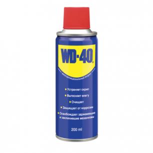 Средство WD-40 универсальное, 200 мл. для тысячи применений в офисе, быту, производстве ш/к 00024
