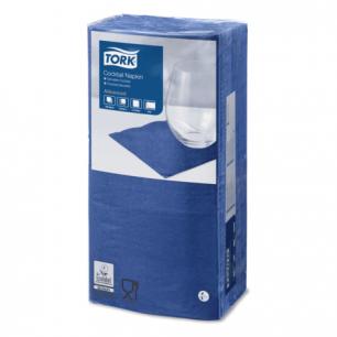 Салфетки TORK Big Pack, 24х23,8, 200шт., 2-х сл., темно-синие, 477825