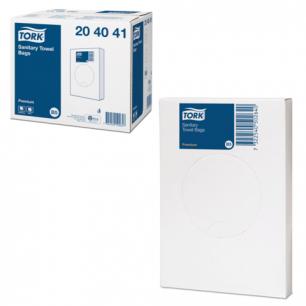 Пакеты гигиенические TORK (B5)  Premium, 25шт., полиэтиленовые, 2 л, (дисп. 602984-985), 204041