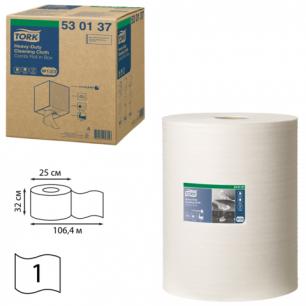 Материал протирочный TORK (W1,W2,W3)  Premium, 280л в рулоне, 38х32,нетканн., (дисп.601678,-741), 530137