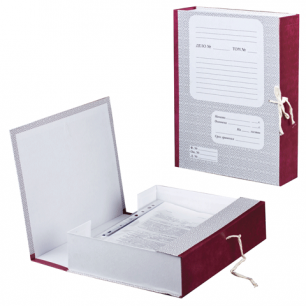 Короб архивный 7 см, 2 х/б завязки, до 600л.