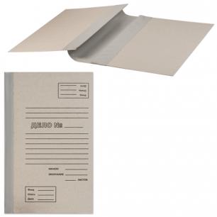 Папка архивная для переплета  40 мм, без клапанов, переплетный картон, корешок - бумвинил, ш/к 71773