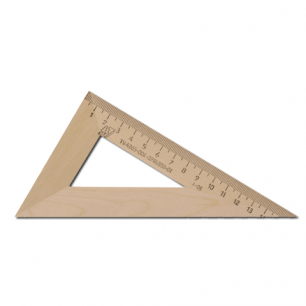Треугольник деревянный УЧД 30*160, С139