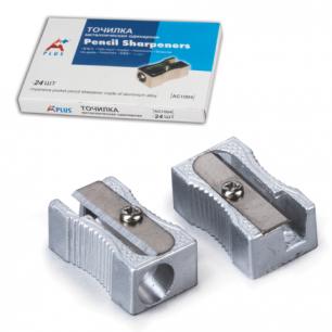 Точилка BEIFA (Бэйфа)  металлическая клиновидная, в картонной коробке, AG1004A