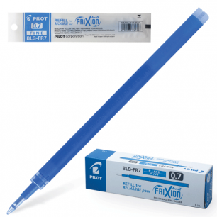 Стержень гелевый Пиши-стирай PILOT BLS-FR-7, 111мм, евронаконечник, 0,35мм, (к руч.141455), синий