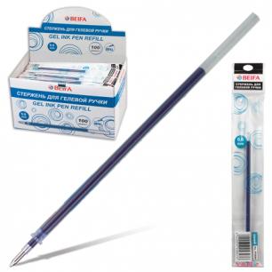 Стержень гелевый BEIFA 135 мм, 0,6мм, упаковка с европодв., PX666-BL, синий
