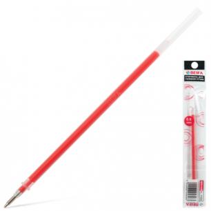 Стержень гелевый BEIFA 135 мм, 0,6мм, упаковка с европодв., PX666-RD, красный