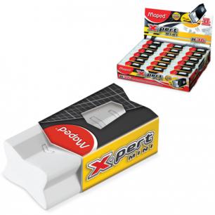 "Резинка стирательная MAPED (Франция)  ""X Pert Mini"", 38,5х18,4х13 мм, бел, карт. держ, дисплей, 116311"