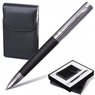 """Набор GALANT """"Prestige Collection"""": ручка, визитница, черный, подар.кор., 141371"""