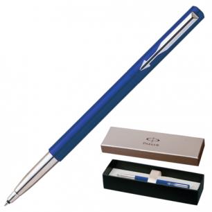 Ручка роллер PARKER Vector Standart Blue CT корпус синий, пластик, хромир. детали, S0705340, синяя