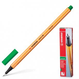 "Ручка капиллярная STABILO ""Point"", толщ. письма 0,4мм, 88/36, зеленая"