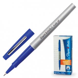 "Ручка капиллярная PAPER MATE ""Flair UF, корпус серый, толщ. письма 0,5мм, S0901331, синяя"