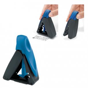 Оснастка карманная для штампа, оттиск 47*18мм синий, TRODAT 9412, подушка в комплекте, корпус синий