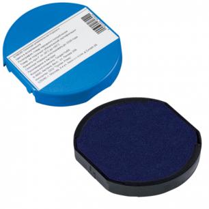 Подушка сменная для TRODAT 46045, 46145 синяя, 6/46045