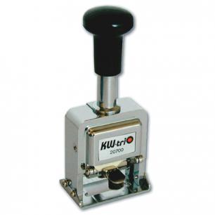 Нумератор KW-trio, 7-ми разрядный, автоматический, металлический 20700