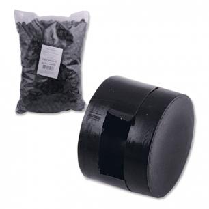 Пломбы пластиковые (2200 штук), под пломбиратор, диам. 10мм, выс. 7мм, упаковка 1кг, неармированные
