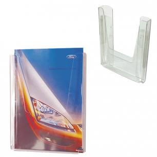 Подставка для рек. материалов настенная для листов ф. А4 290*215*32 мм №12