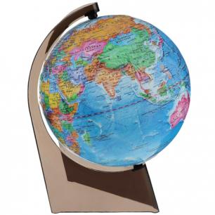 Глобус политический, диаметр 210 мм, рельефный (Россия), 10279