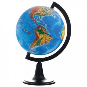 Глобус физический диаметр 150 мм (Россия), 10003
