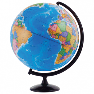Глобус политический диаметр 420 мм (Россия), 10323