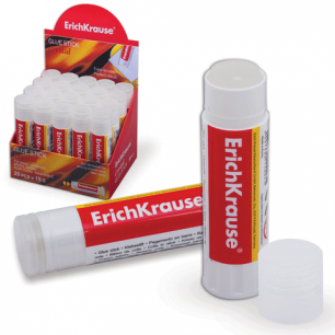 """Клей-карандаш ERICH KRAUSE """"Crystal"""" (прозрачный)  15 г, 11007"""