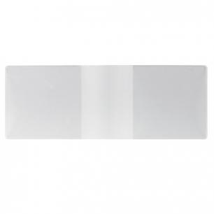 Обложка для удостоверения ПВХ, 210*77, прозрачная, ДПС, 1510