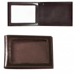 """Обложка д/удостоверения BEFLER """"Classic"""" натур. кожа, с окном, коричневая, F.13.-1, ш/к-50016"""