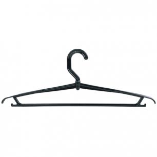 Вешалка-плечики вращающаяся, пластиковая, р.46-48, 42см, цвет черный, М2207