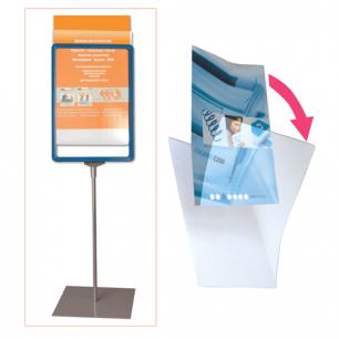Экран защитный для рамки POS А3 (код 290254,290255,290256,290257), прозрачный, 290263