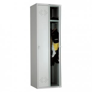"""Шкаф металлический для одежды ПРАКТИК """"LS-21"""", двухсекционный (в1830*ш575*г500мм;33кг), разборный"""